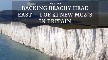 BACKING BEACHY HEAD EAST – 1 OF 41 NEW MCZ'S IN BRITAIN